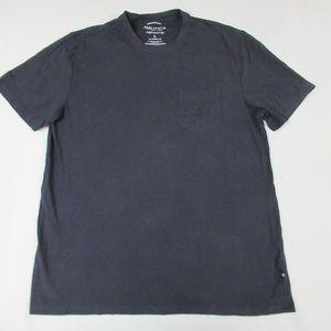 NAUTICA SOLID BLACK CLASSIC FIT C1639